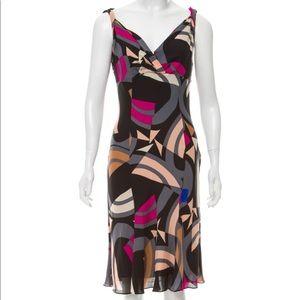 Clooney silk dress
